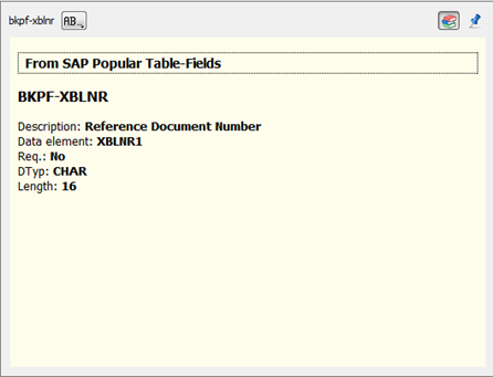 Stardict/GoldenDict Dictionaries for ABAP fields and tables | Kite's